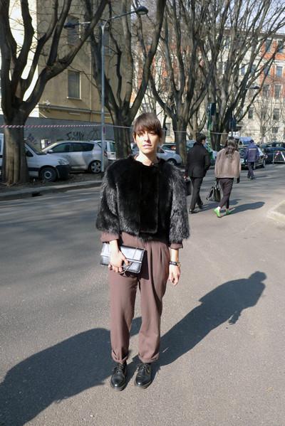 Изображение 27. Milan Fashion Week: день третий – луки.. Изображение № 10.