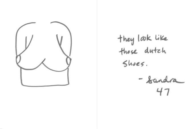 «Они напоминают те голландские башмаки», — Сандра, 47. Изображение № 19.
