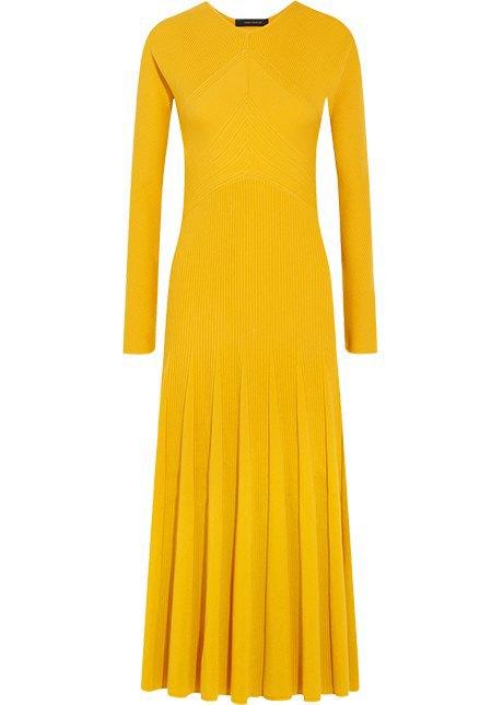 Трикотажные платья в рубчик: От простых до роскошных. Изображение № 7.