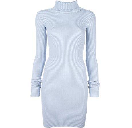 Трикотажные платья в рубчик: От простых до роскошных. Изображение № 4.