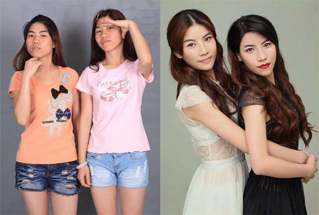Стандарты красоты: китаянки после пластики. Изображение № 3.