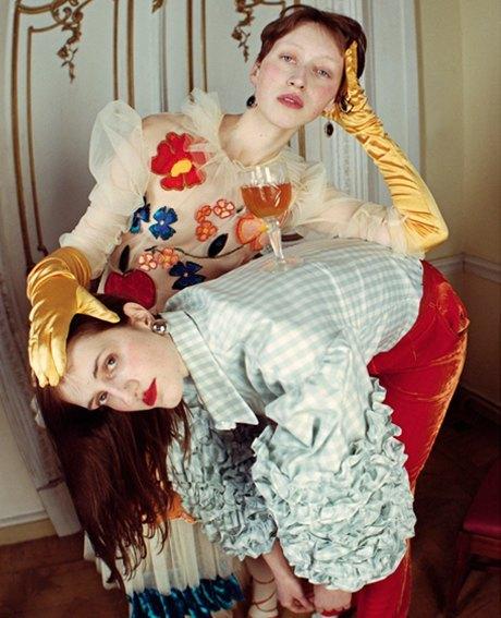 Съёмка Юлдус Бахтиозиной для Naya Rea по мотивам пьесы «Три сестры». Изображение № 19.