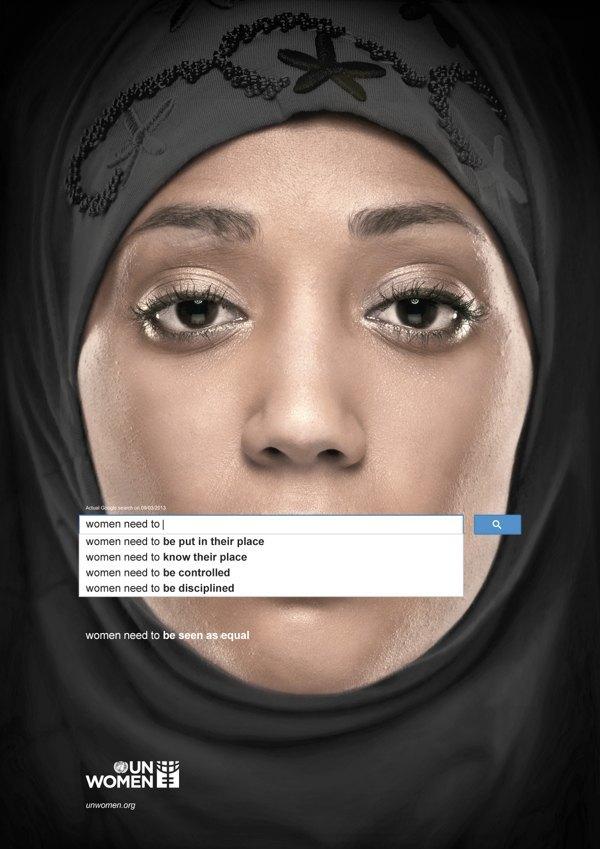 Сексистские запросы в Google стали основой социальной рекламы. Изображение № 1.