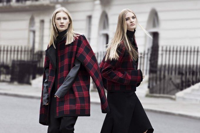 Модели на улицах Лондона в новой кампании Zara. Изображение № 12.