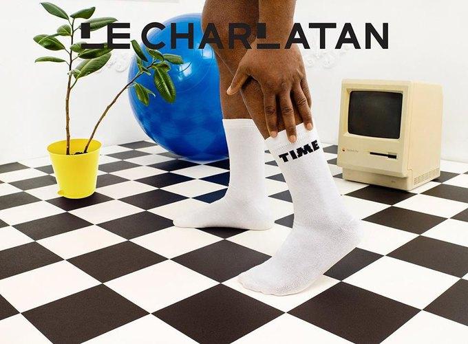 Лего, ноги гиков и роботы в лукбуке марки носков Le Charlatan. Изображение № 4.