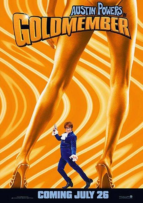 Найдите отличие:  Люди между ног  на постерах к фильмам. Изображение № 6.