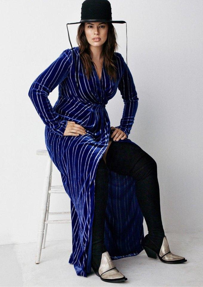 Плюс-сайз-модель Эшли Грэхэм стала лицом коллекции H&M Studio. Изображение № 2.