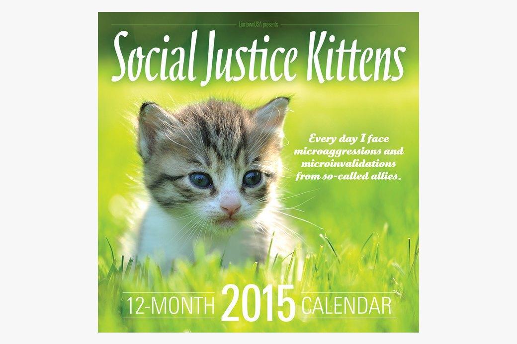 Календарь  со здравомыслящими  котятами на 2015 год. Изображение № 1.