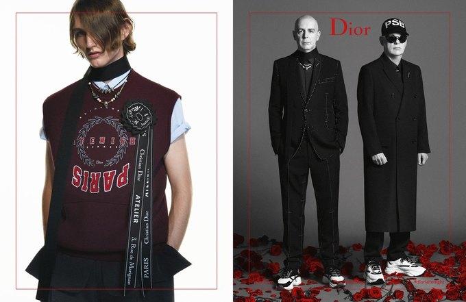 Участники Pet Shop Boys снялись в новой кампании Dior Homme. Изображение № 2.
