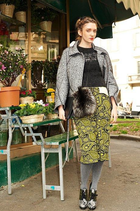 Стритстайл: Неделя моды в Милане,  часть II. Изображение № 29.