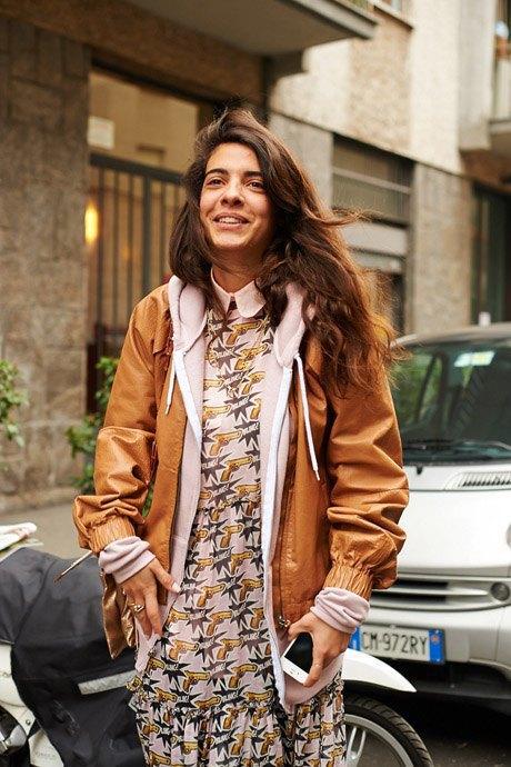 Стритстайл:  Неделя моды в Милане,  часть I. Изображение № 12.
