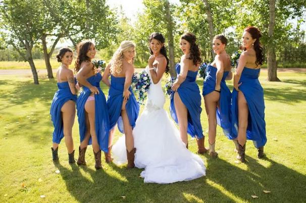 Голые задницы — новый тренд свадебной фотографии. Изображение № 1.