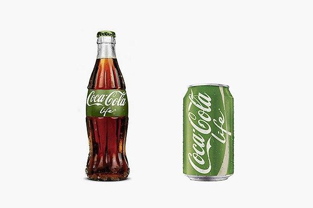 Coca-Cola выпустила  альтернативу  обычной «коле». Изображение № 1.