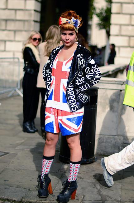London Fashion Week: Уличный стиль, часть 1. Изображение № 6.
