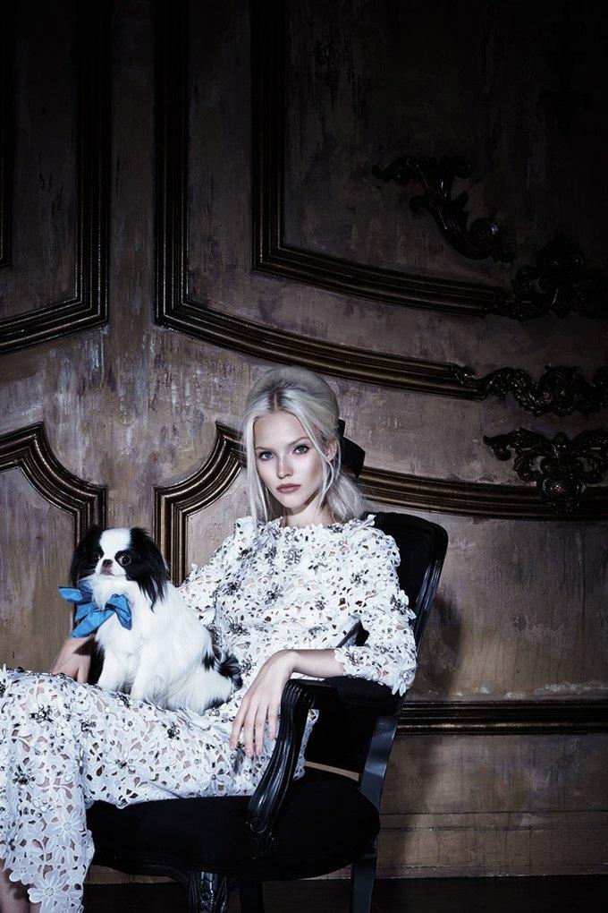 Саша Лусс с собачкой в новом лукбуке Bohemique. Изображение № 19.