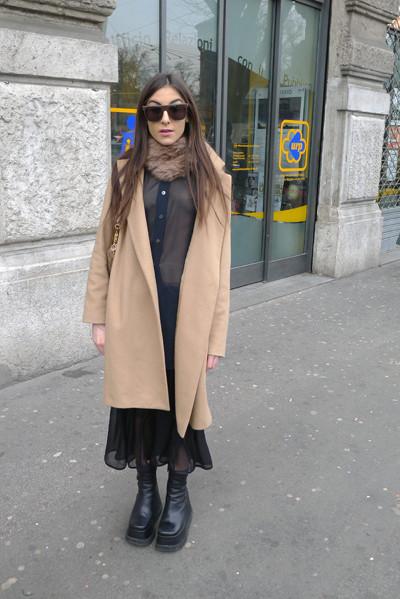 Изображение 3. Milan Fashion Week: день четвертый – луки.. Изображение № 4.