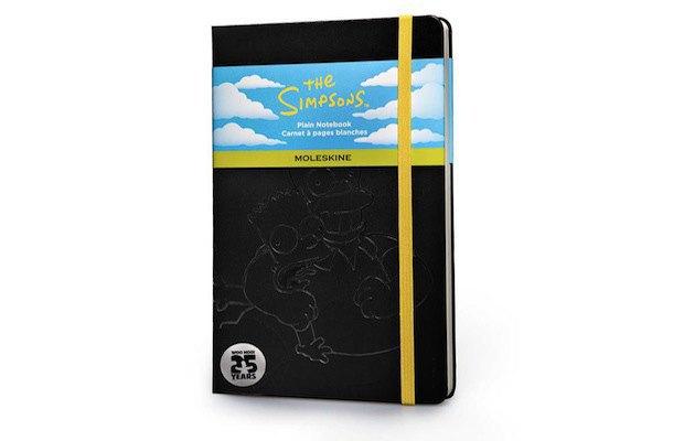 Moleskine выпустила специальную серию к юбилею «Симпсонов». Изображение № 2.