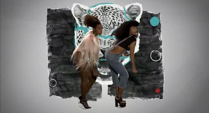 Появилась загадочная и веселая версия клипа Бейонсе «Grown Woman». Изображение № 1.