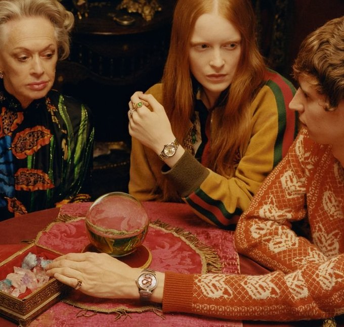 В новой рекламе Gucci снялась 88-летняя актриса Типпи Хедрен. Изображение № 2.