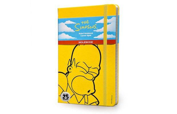 Moleskine выпустила специальную серию к юбилею «Симпсонов». Изображение № 5.