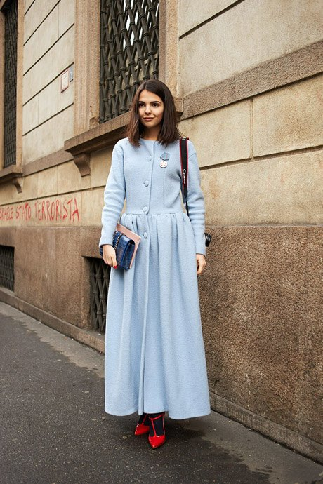 Стритстайл: Неделя моды в Милане,  часть III. Изображение № 4.