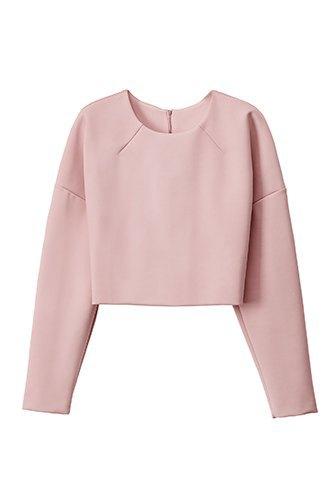 Розовые топы и юбки в экологичной коллекции H&M. Изображение № 1.