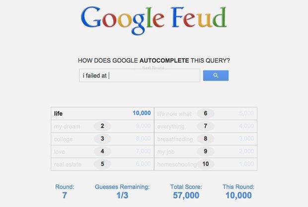 «Google Feud»: викторина  по популярным поисковым запросам. Изображение № 6.