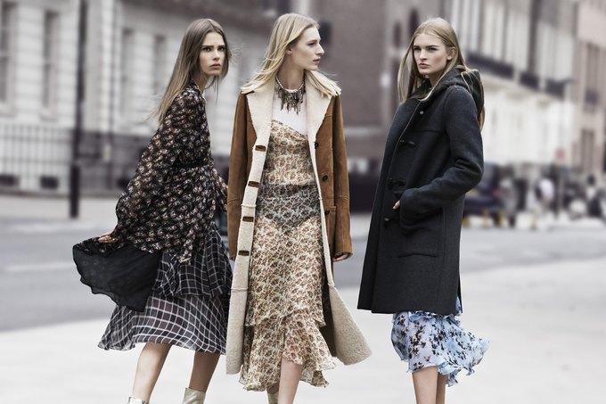 Модели на улицах Лондона в новой кампании Zara. Изображение № 11.