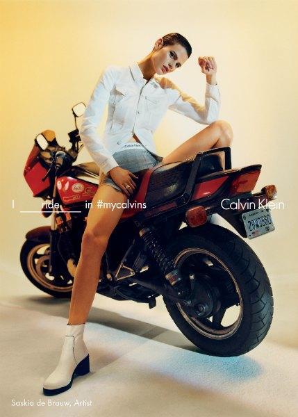 FKA twigs, Кендалл Дженнер и другие звёзды в кампании Calvin Klein. Изображение № 8.