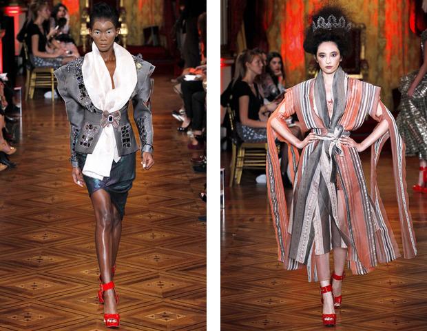Парижская неделя моды: показы Haider Ackermann, Viktor&Rolf, Vivienne Westwood, Junya Watanabe и CDG. Изображение № 43.