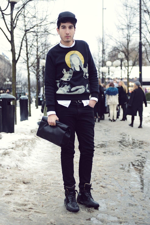 Шубы и горох на Stockholm Fashion Week. Изображение № 43.