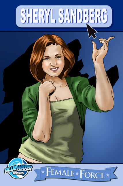 Выходит комикс о жизни  и карьере COO Facebook Шерил Сэндберг. Изображение № 1.