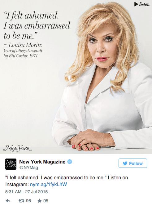 35 женщин, обвинивших Билла Косби в насилии,  на обложке NYMag. Изображение № 5.