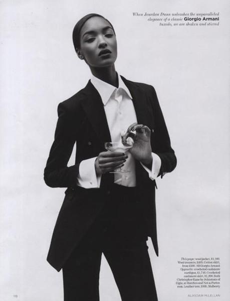 Тёмные силы: 10 чернокожих моделей. Изображение № 68.