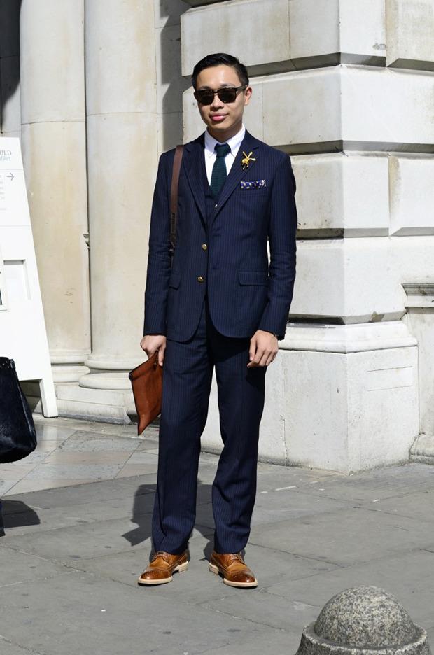 Streetstyle: Неделя моды в Лондоне, часть 2. Изображение № 42.