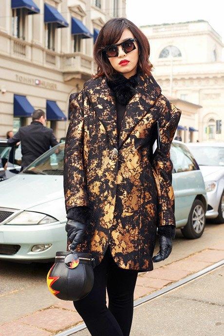 Стритстайл:  Неделя моды в Милане,  часть I. Изображение № 31.