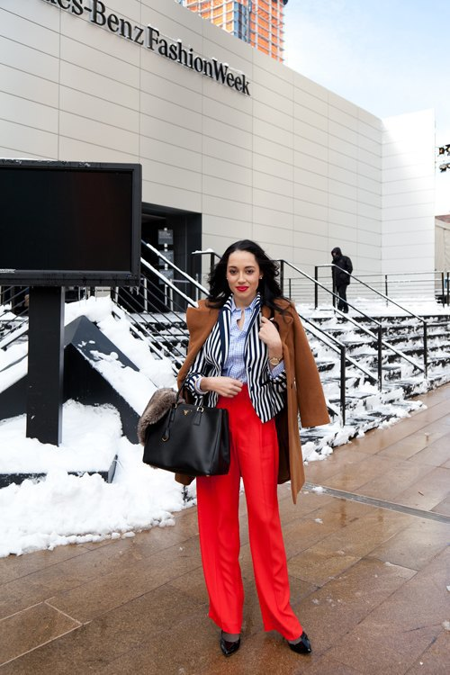 Неделя моды в Нью-Йорке,  часть I. Изображение № 26.