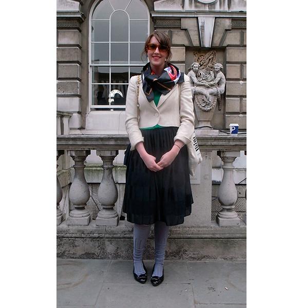 London Fashion Week: день первый — луки. Изображение № 13.