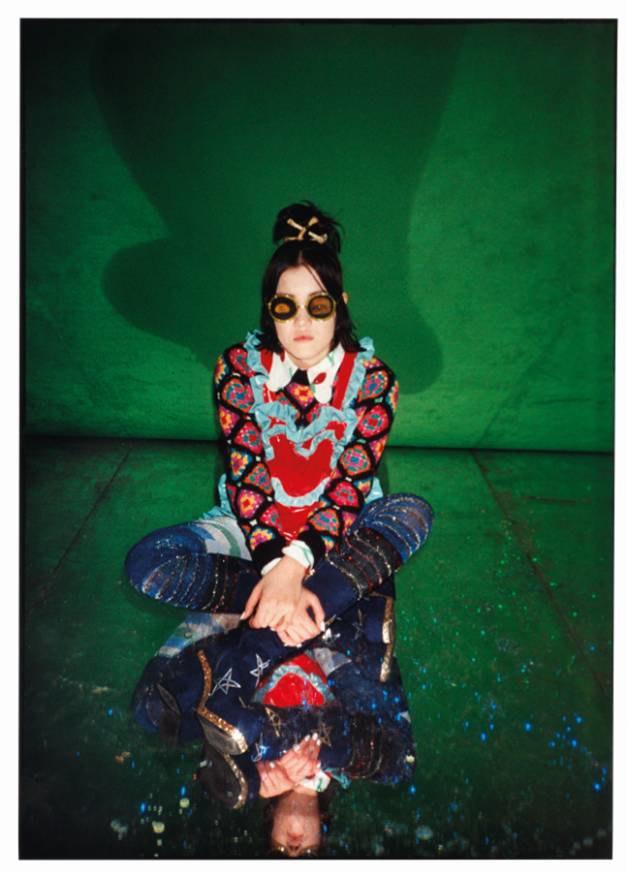 Цветной мех и лягушки в коллекции Meadham Kirchhoff x Topshop. Изображение № 5.