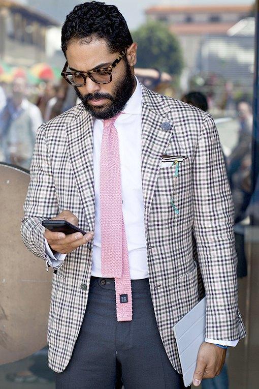 Красивые  мужчины  на Pitti Uomo. Изображение № 27.