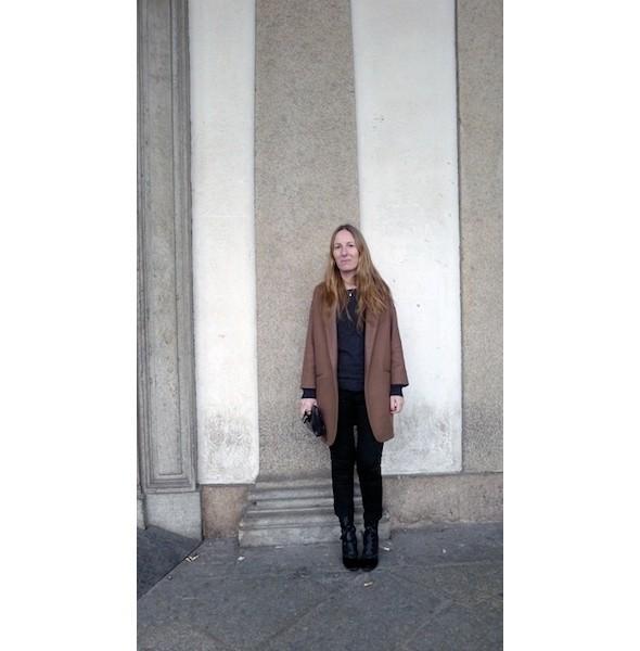 Изображение 13. Milan Fashion Week: день шестой — луки.. Изображение № 13.