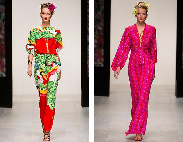 Неделя моды в Лондоне: Показы Issa, Holly Fulton, House of Holland, John Rocha и Moschino. Изображение № 1.