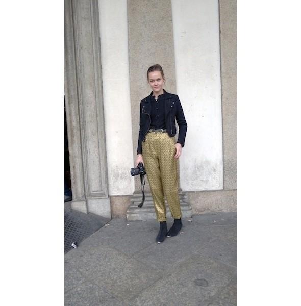 Изображение 12. Milan Fashion Week: день шестой — луки.. Изображение № 12.