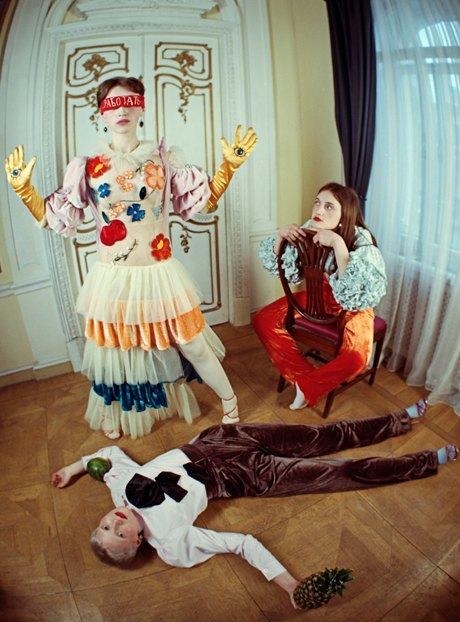 Съёмка Юлдус Бахтиозиной для Naya Rea по мотивам пьесы «Три сестры». Изображение № 12.