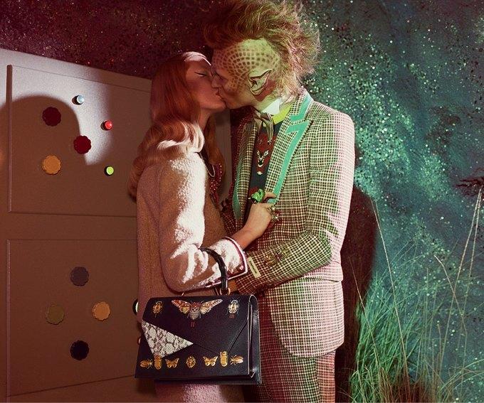 В новой кампании Gucci снялись пришельцы  и динозавры. Изображение № 18.