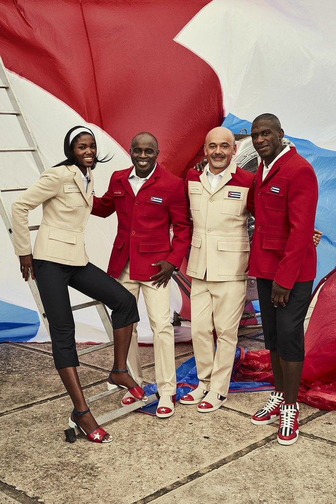 Christian Louboutin создали парадную форму для кубинских спортсменов. Изображение № 1.