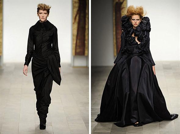 Изображение 10. Показы на London Fashion Week AW 2011: день 1.. Изображение № 6.