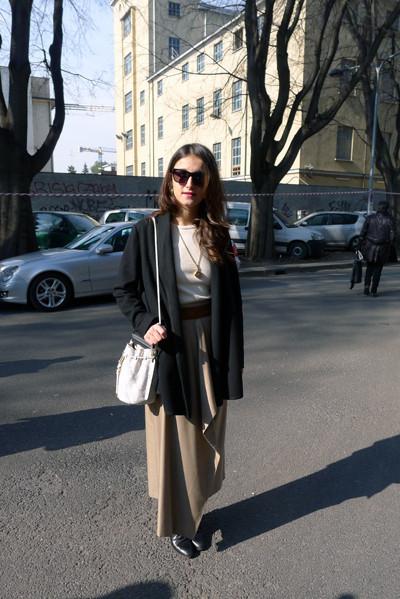 Изображение 26. Milan Fashion Week: день третий – луки.. Изображение № 9.