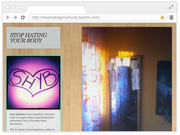 10 вдохновляющих блогов о восприятии тела. Изображение № 2.