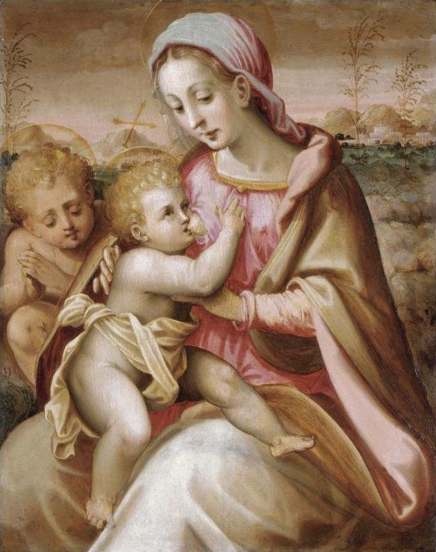 Папа римский призвал женщин кормить грудью  в церквях. Изображение № 1.
